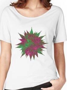 Razzle Dazzle Flower Women's Relaxed Fit T-Shirt