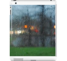 Rain Through the Glass iPad Case/Skin