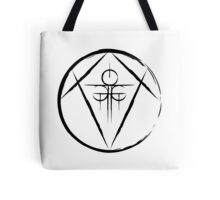 Spell of Gathering (Black) Tote Bag