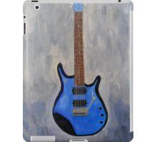 Blue Guitar Acrylic Painting  iPad Case/Skin