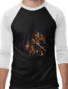 Dried Flower Arrangement Men's Baseball ¾ T-Shirt