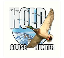 Goose Hunter Art Print