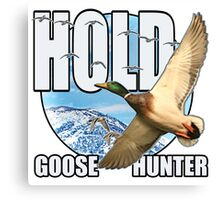 Goose Hunter Canvas Print