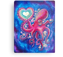 Octo Love Metal Print