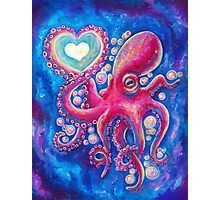 Octo Love Photographic Print