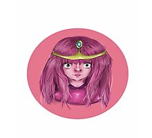 Princess Bubblegum - Adventure Time Photographic Print