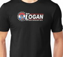 Vote Logan Unisex T-Shirt