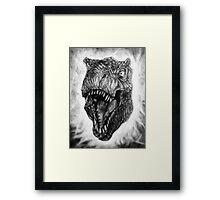 King Lizard Tyrannosaurus Rex Framed Print