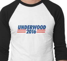 frank underwood 2016 Men's Baseball ¾ T-Shirt