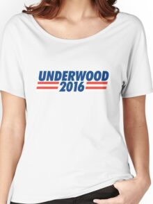 frank underwood 2016 Women's Relaxed Fit T-Shirt