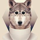 Caffeinimals: Wolf by Lasse Damgaard