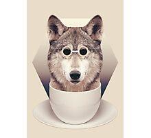 Caffeinimals: Wolf Photographic Print