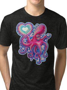 Octo Love Tri-blend T-Shirt