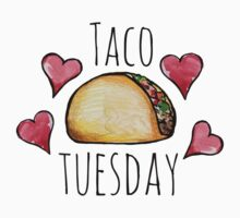 Taco tuesday Kids Tee