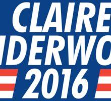 claire underwood 2016 Sticker
