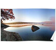 Autumn Sunrise - Crystal Lake Poster