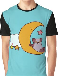 Moon Aye Aye Graphic T-Shirt