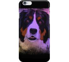 Bernese mountain dog iPhone Case/Skin
