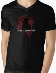 Fable - Live a Fabled Life Mens V-Neck T-Shirt