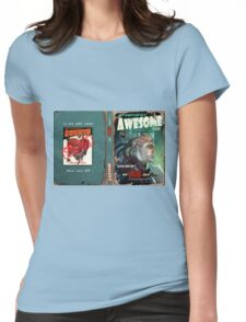 Astoundingly Awesome Tales #1: My Brain and I... Womens Fitted T-Shirt