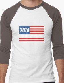 Frank Underwood Flag Men's Baseball ¾ T-Shirt