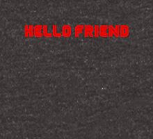 Mr. Robot Hello Friend Unisex T-Shirt