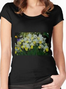 Jenny Daffodils Women's Fitted Scoop T-Shirt
