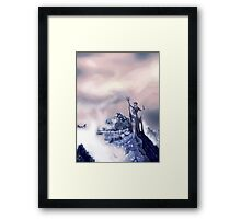 azura painting Framed Print