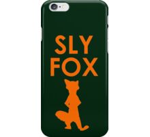 Nick Wilde - Sly Fox ( Green ) iPhone Case/Skin