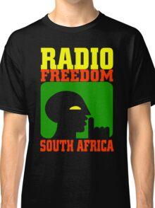 RADIO FREEDOM-SOUTH AFRICA Classic T-Shirt