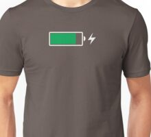 Battery Charging (W) Unisex T-Shirt