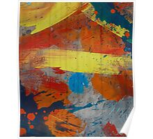 Abstract composition 229 Poster