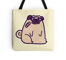 Sad Hurt Pug Tote Bag