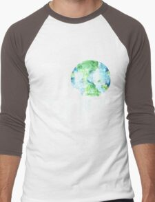 LOVE earth day Men's Baseball ¾ T-Shirt