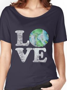 LOVE earth day Women's Relaxed Fit T-Shirt