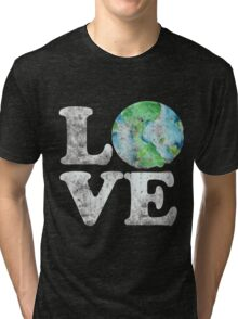 LOVE earth day Tri-blend T-Shirt