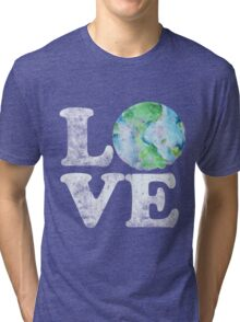 LOVE earth day Tri-blend T-Shirt