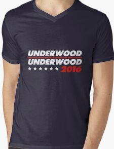 Underwood 2016 Logo Mens V-Neck T-Shirt