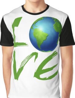 Love the Earth Graphic T-Shirt
