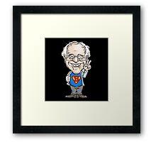Super Bernie Sanders Framed Print