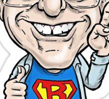 Super Bernie Sanders Sticker