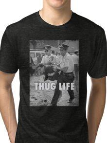 Bernie Thug Life Tri-blend T-Shirt