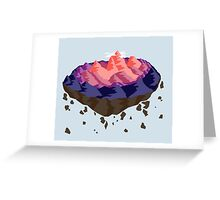 Mountain Island Greeting Card