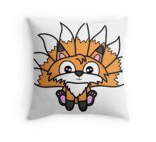Cute Nine-Tails Fox Throw Pillow