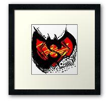 Batman vs Superman Framed Print