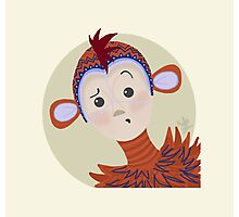 Soundsational Monkey Photographic Print