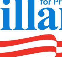 hillary for president bumper sticker Sticker