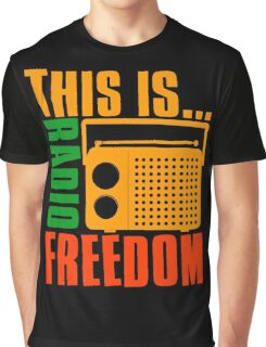 This is Radio Freedom-2 Graphic T-Shirt