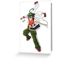 Sakaki Yuya Greeting Card