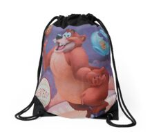 bear humphrey Drawstring Bag